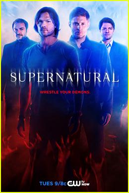Jared Padalecki & Jensen Ackles Introduce 'Supernatural' Season 10 with New Poster & Stills!