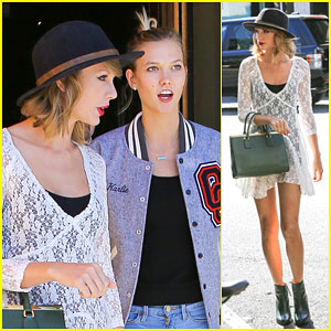 Taylor Swift & Karlie Kloss Have Girl Time After Meghan Trainor Covers 'Shake It Off'!