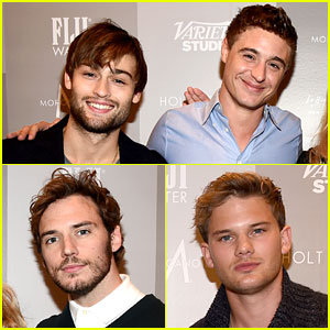 Douglas Booth, Jeremy Irvine, & More Hot Brits Are Heating Up Toronto!