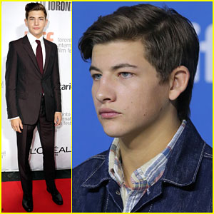 Tye Sheridan Suits Up for 'The Forager' Premiere at TIFF 2014!