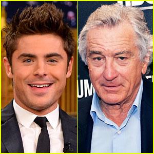 Zac Efron to Star in 'Dirty Grandpa' with Robert De Niro!