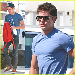 Zac Efron Hits 'We Are Your Friends' Set After 'Dirty Grandpa' Casting News