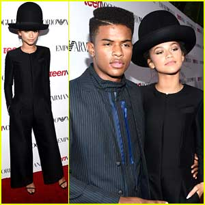 Zendaya's Hat Is All We Can Think About at Teen Vogue's Young Hollywood Party 2014