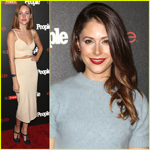 Silicon Valley's Amanda Crew & Chasing Life's Haley Ramm Step Out For People Mag's Ones To Watch Bash