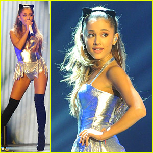 Ariana Grande Performs 'Problem' at Radio 1 Teen Awards - Watch Here!