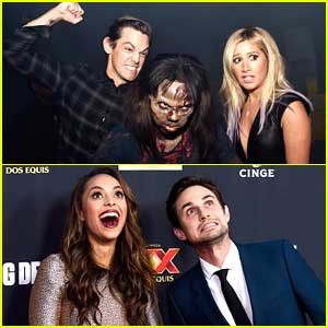 Ashley Tisdale & Amber Stevens Bring Their Men To 'Walking Dead' Season 5 Premiere - See The Cute Couple Pics!