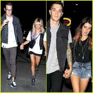 Ashley Tisdale & Shenae Grimes: Kings of Leon Concert Double Date!