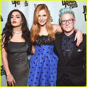 Bella Thorne & Tyler Oakley Host Just Dance Homecoming 2015 - See The Pics!