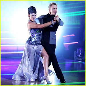 Bethany Mota & Derek Hough Tango Together on 'DWTS' - See the Pics!