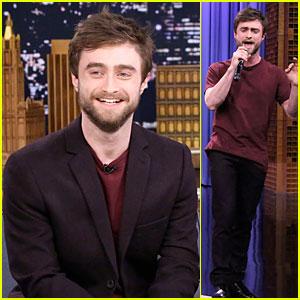 Daniel Radcliffe Shows Off Impressive Rap Skills on 'Tonight Show' - Watch Now!