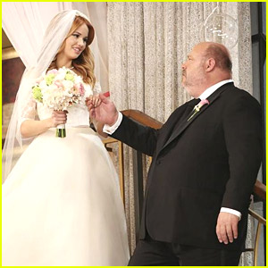Debby Ryan & Kevin Chamberlin Are Officially Our Favorite Friendship on 'Jessie' - Watch The Exclusive Featurette From The Wedding Special!
