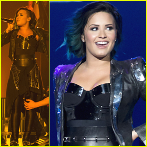 Demi Lovato Lights Up New Jersey On World Tour - See Her Set List Here!