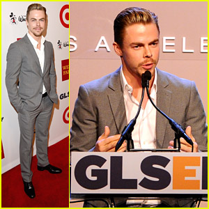 Derek Hough Receives GLSEN Inspiration Award