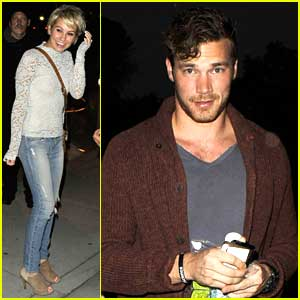 Baby Daddy's Chelsea Kane & Derek Theler Check Out Sam Smith Concert