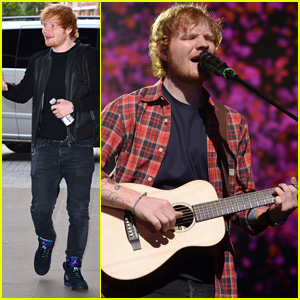 We're Obsessed with Ed Sheeran's Cover of 'Take Me To Church' - Watch Now!
