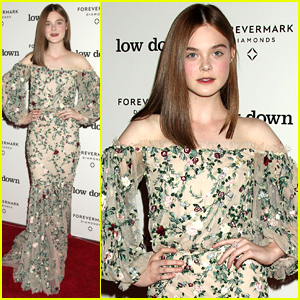 Elle Fanning is a Brunette Now, But She Says Her Personality is Blonde