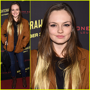 Emily Meade Used to Wear 'Black Raccoon Eyeliner' Every Single Day to School