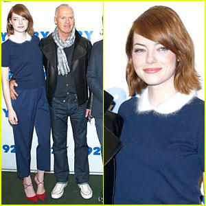 Emma Stone Says 'Birdman' Was a Combo Of Theater, Film, & Stunts
