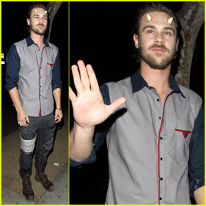 Grey Damon Sprouts Horns for Halloween!