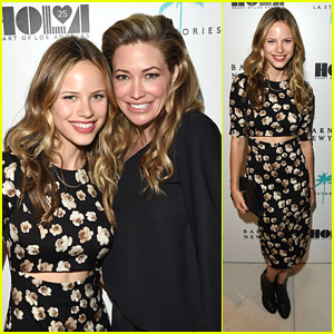 Halston Sage Celebrates With Barneys New York Beverly Hills After 'Paper Towns' Casting