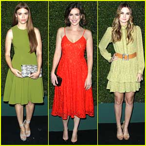 Holland Roden & Liana Liberato Celebrate 'Young Hollywood' Book Launch With Elizabeth Henstridge