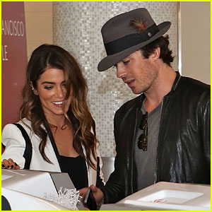 Ian Somerhalder Flies Away with Nikki Reed & Her Dog Ira