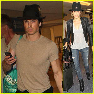 Ian Somerhalder Tips His Hat Off to Girlfriend Nikki Reed!