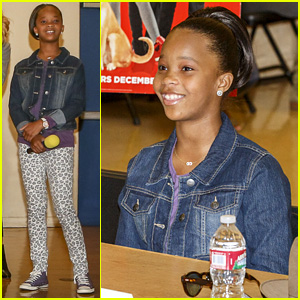 Jamie Foxx Gave Quvenzhane Wallis Advice to Always Be Herself!