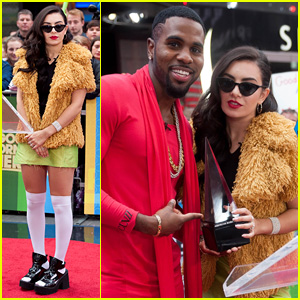 Jason Derulo & Charli XCX Team Up to Announce AMA Nominations on 'GMA'