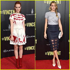 Jena Malone & Lindsay Ellingson Keep It Young at 'St. Vincent' Premiere
