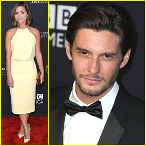 Jenna Coleman Stuns at BAFTA Britannia Awards 2014 with Ben Barnes