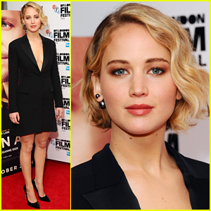 Jennifer Lawrence Goes Chic at 'Serena' London Premiere