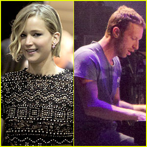 Jennifer Lawrence Spotted Backstage with Chris Martin at Kings of Leon Concert! (Exclusive)
