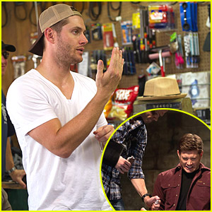 Jensen Ackles Directs 'Supernatural' Episode Tonight!
