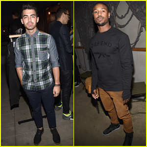 Joe Jonas & Michael B. Jordan Live It Up at 'GQ' & Gap's Best New Menswear Designers Celebration!