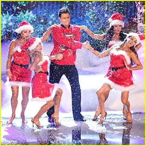 Jonathan Bennett Goes Back to His 'Mean Girls' Roots with 'DWTS' Samba - See the Pics!