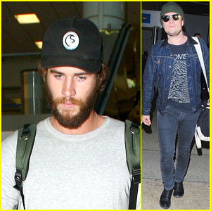 Liam Hemsworth & Josh Hutcherson Join Jennifer Lawrence in L.A.