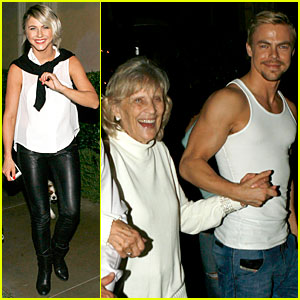 Julianne & Derek Hough Make Time For Their Grandmother On Her Birthday