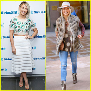 Julianne Hough Makes Three Outfit Changes in NYC!