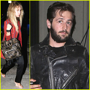 Juno Temple & Michael Angarano Make It A Date Night at Craig's