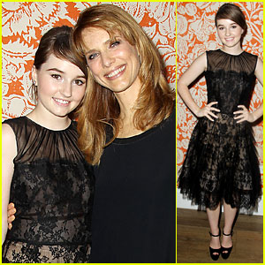Kaitlyn Dever Is Lovely in Lace for 'Laggies' NYC Screening