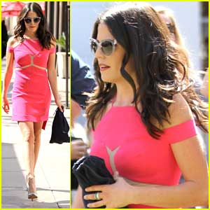 Karla Souza Shows Us 'How To Get Away With Murder' In A Hot Pink Dress