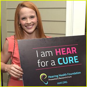 Katie Leclerc Raises Awareness at Hearing Health Foundation Gala 2014