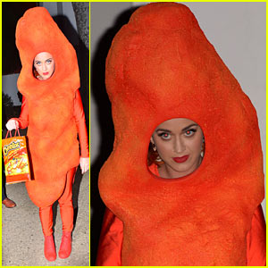 Katy Perry Is Cheeto-licious for Halloween Costume!