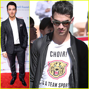 Kevin Jonas Keeps It Sharp For TJ Martell's New York Honors Gala