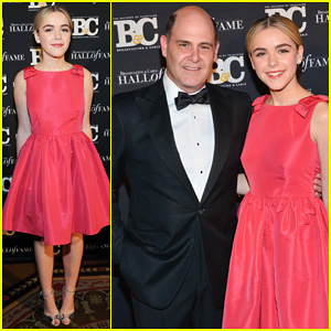 Kiernan Shipka Gets All Dolled Up for Broadcasting & Cable Hall Of Fame Awards 2014!