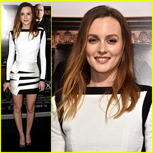 Leighton Meester Looks White Hot for 'The Judge' LA Premiere!