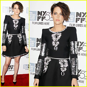 Kristen Stewart Makes a Flashy Entrance at 'Clouds of Sils Maria' Premiere