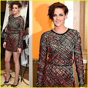 Kristen Stewart Wears See-Through Dress at 'Camp X-Ray' Premiere