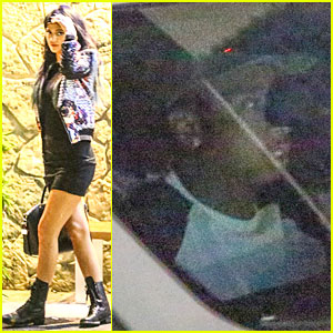 Kylie Jenner & Tyga Enjoy Sushi Date in Encino